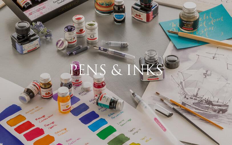 Pens & Ink