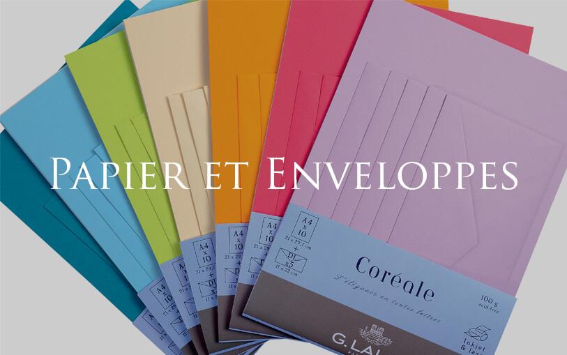 Papier et Enveloppes